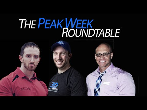 THE PEAK WEEK ROUNDTABLE feat. Cliff Wilson, Eric Helms, Jason Theobald