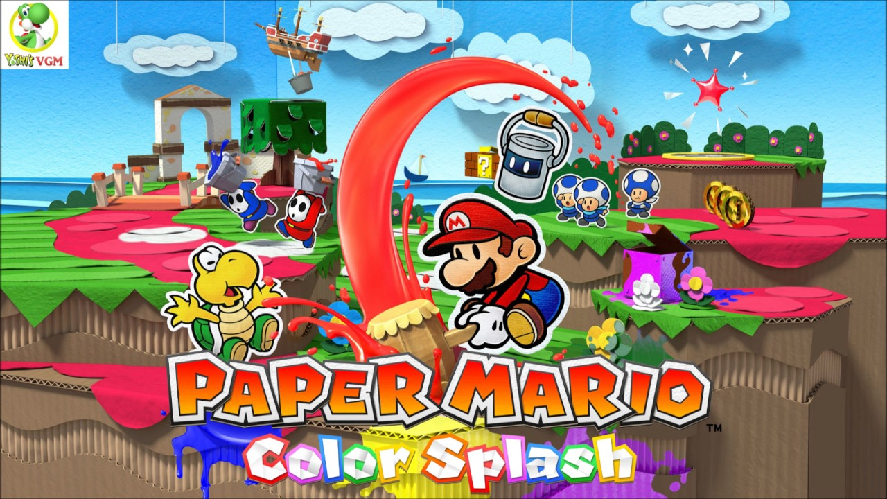 Thing Hair Dryer Paper Mario Color Splash Ost Youtube
