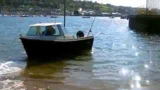 Westport Pilot 4 a safe, stable, quality small boat for sale in Devon.