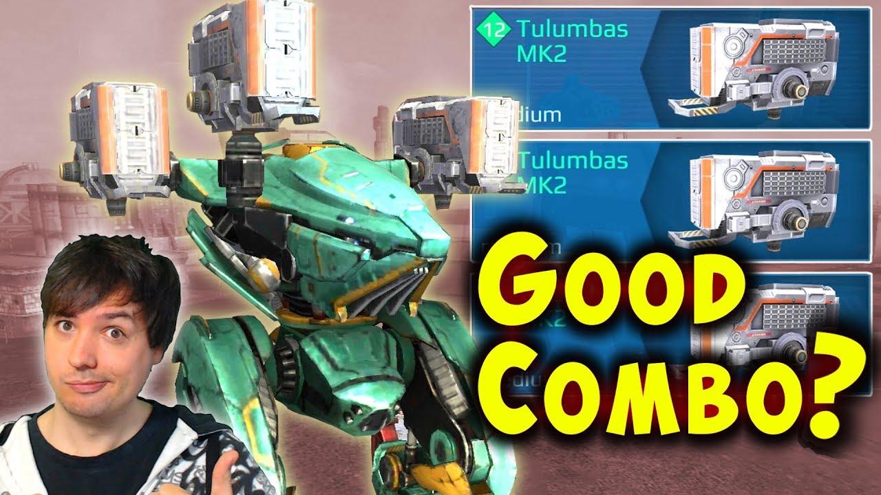 Tulumbas Ao Guang GOOD COMBO? War Robots Mk2 Viewer Request Gameplay WR