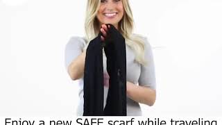 Unique Traveling Pocket Scarf