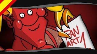 Leo y Satán - El Rincón del Fanart
