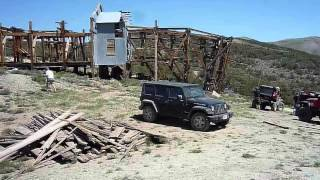 Cerro Gordo 4x4 Road and off road trail and Salt Tram 2010 part one