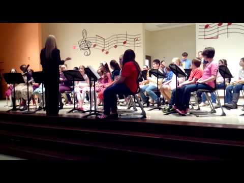 Coshocton elementary school 5th and 6th grade band