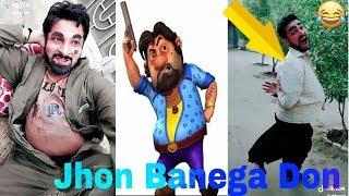 Jhon Banega Don Motu Patlu presenting Tiktok videos | jhon special TikTok Videos |