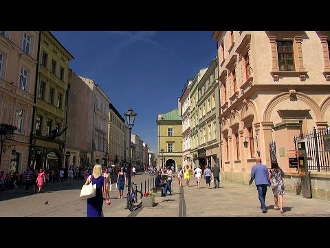 Kraków Grodzka (the Grodzka Street), Polska (Poland) [HD] (videoturysta)
