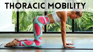 20 MINUTE PILATES WORKOUT | Thoracic Mobility