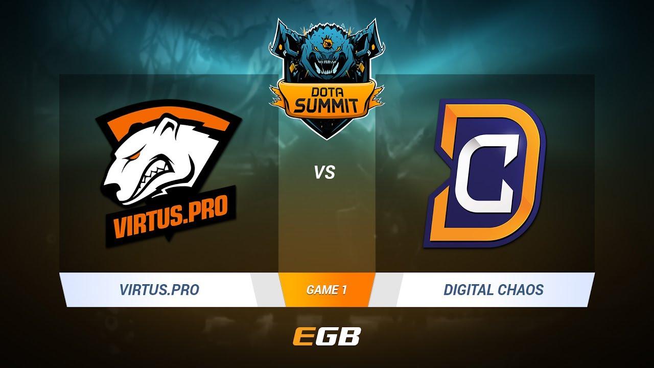 Virtus.Pro vs Digital Chaos, Game 1, DOTA Summit 7 LAN-Final, Day 4