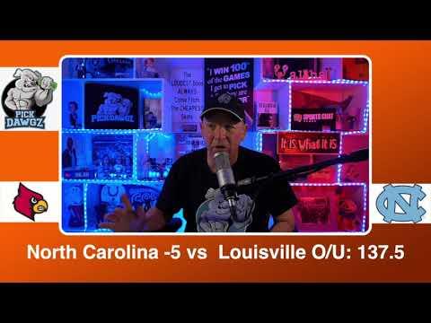 North Carolina vs Louisville 2/20/21 Free College Basketball Pick and Prediction CBB Betting Tips