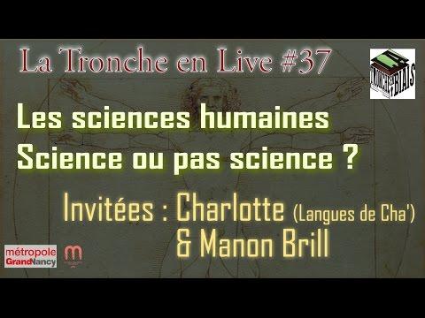 Les sciences humaines : science ou pas science ? (TeL#37)