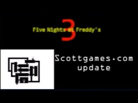 FNaF 3 - Scottgames Update! [DELETED VIDEO]