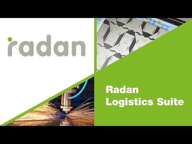 Logistics Suite Overview | Radan
