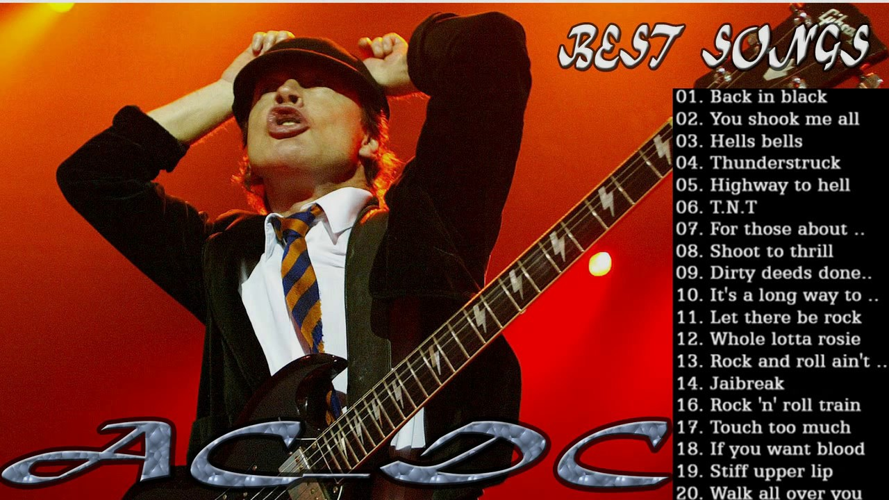 ac dc full album youtube