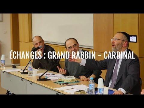 Échanges entre le Grand Rabbin Bernheim et le Cardinal Barbarin