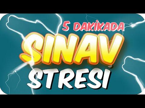 5dk'da SINAV STRESİ