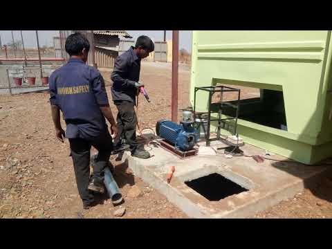 R B gangal company site pipe work at sinnar