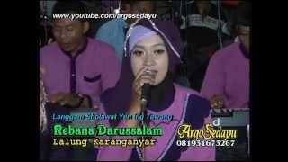 Langgam Sholawat Yen Ing Tawang, Rebana darussalam Nglaras