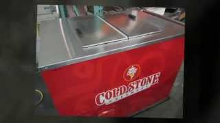 Batch Freezer, Dipping Cabinet & Ice Cream Display Case For Sale