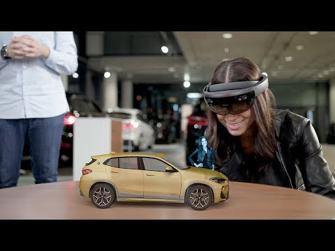 BMW X2 Holographic Experience