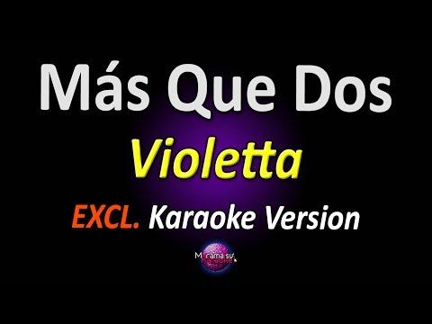 Violetta 3 - Más Que Dos [Martina Stoessel | Mercedes Lambre] (Karaoke Version)
