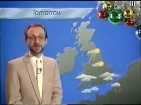 ITV National Weather - Boxing Day 1989