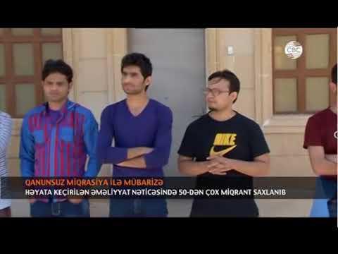 DMX-nin Qanunsuz miqrasiyaya qarşı mübarizə tədbiri CBC TV efirində