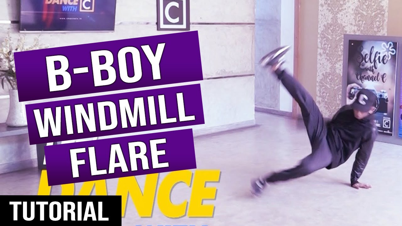 Download HOW TO DO B-BOY Windmill & Flare සිංහලෙන් || Ep.22 - LeT's DaNcE RaMoD with COOL STEPS