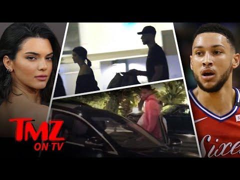 Kendall & Ben Hit The Town!   TMZ TV