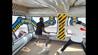Jeu gonflable Bunker interactif