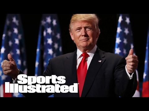 President Trump Publicly Supports LA 2024 Olympic Bid | SI Wire | Sports Illustrated