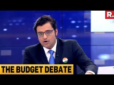 Is Indian Economy Right On Track? | Budget Debate With Arnab Goswami