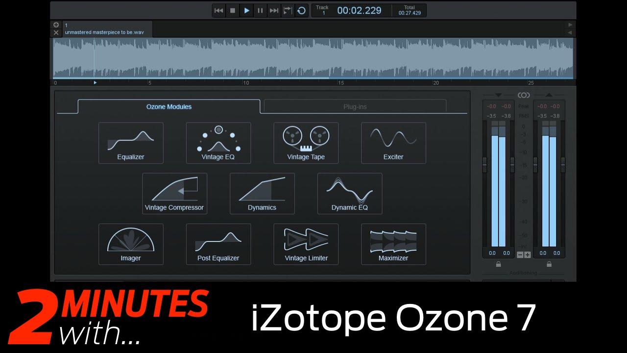 iZotope Ozone 7 | MusicRadar