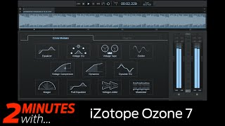 izotope ozone 7 vst au plugin in action
