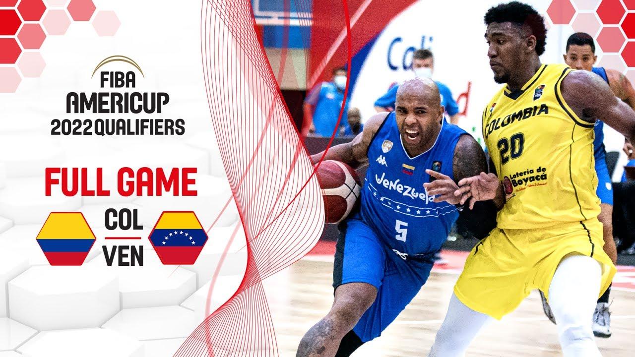 Colombia v Venezuela | Full Game - FIBA AmeriCup 2022 Qualifiers
