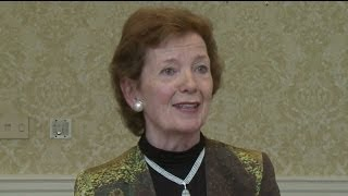 Former Irish President, Climate Justice Advocate Mary Robinson Urges Divestment of Fossil Fuel Firms