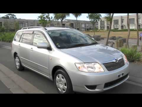 2004 toyota corolla fielder 1500cc 5speed manual youtube rh youtube com www Toyota Corolla Fielder Used Toyota Corolla Fielder