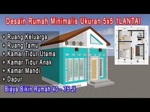 Desain Rumah Minimalis Luas 150m2  drm vlog19 desain rumah tanah 90m2 desain rumah 9 x 10