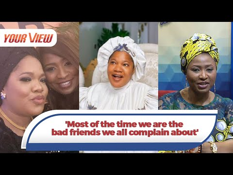 Download We Are The Bad Friends We All Complain About - Toyin Abraham