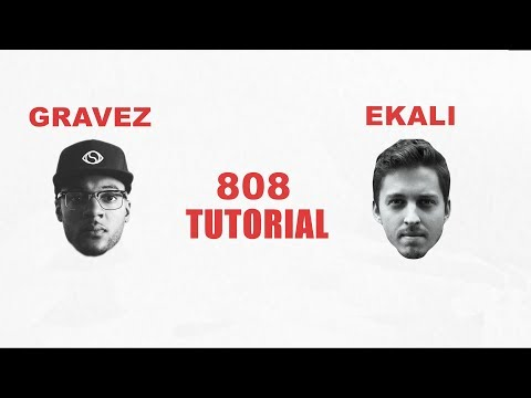 """(Very Easy) How to make an Gravez, Ekali Type """"808"""" in Serum."""