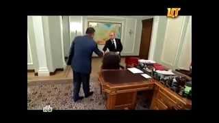 Один день с В.В.Путиным эксклюзивное видео НТВ Такменев