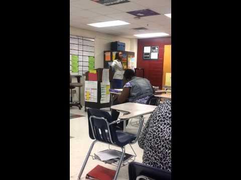 Ms. Banks' World Literature Class