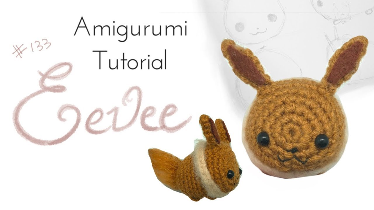 Eevee » 53stitches » Free Amigurumi and Crochet Patterns and Tutorials | 720x1280