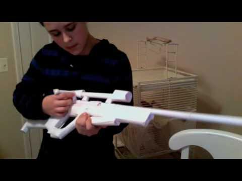 Nerf Gun Arsenal paper awp - YouTube
