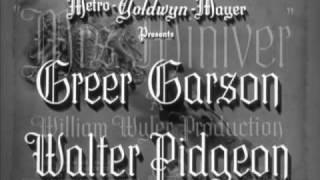 Herbert Stothart scores - MRS. MINIVER (1942)