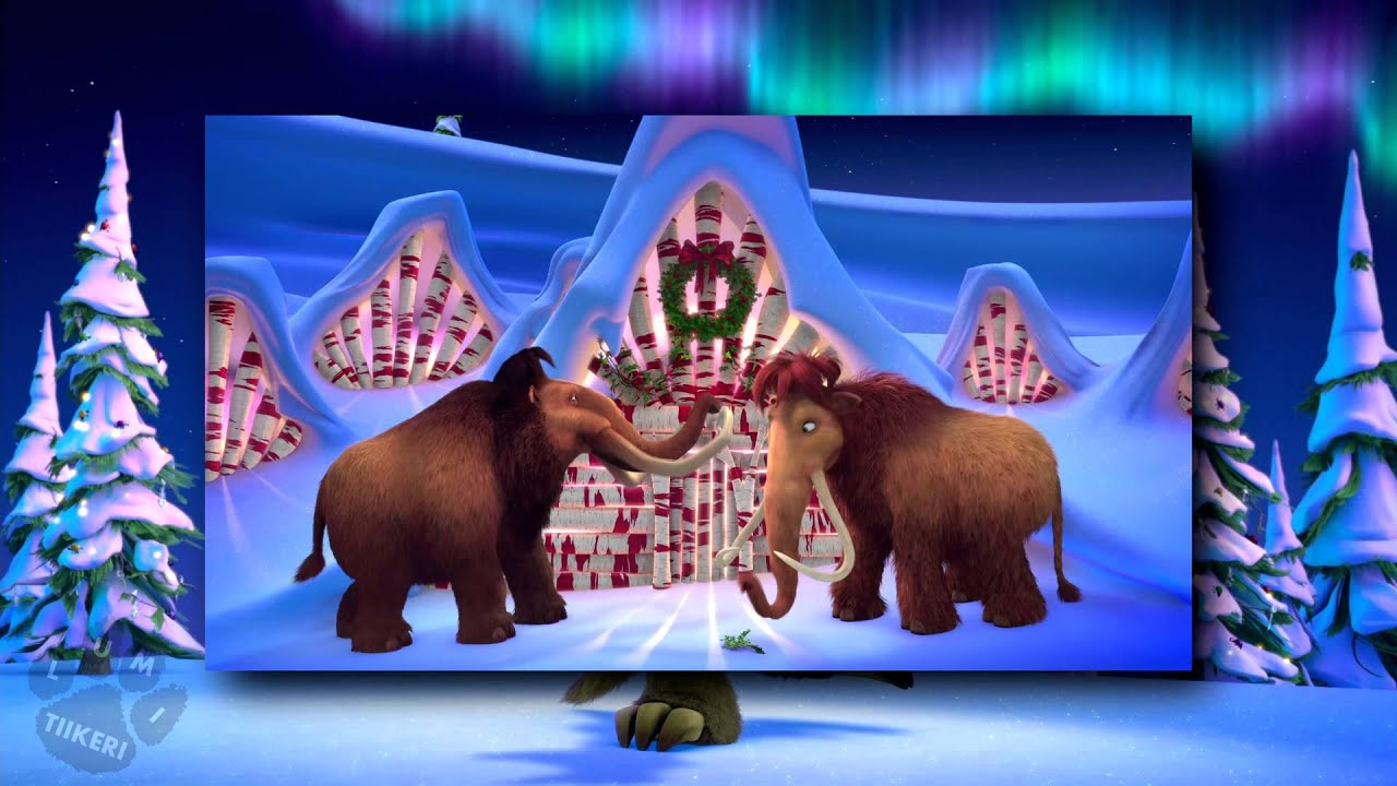 ice age a mammoth christmas deck the halls nordic multilanguage hd youtube - Ice Age Mammoth Christmas