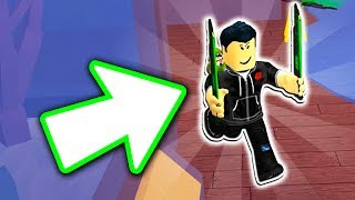 HOW TO DUAL WIELD IN ROBLOX ASSASSIN!!