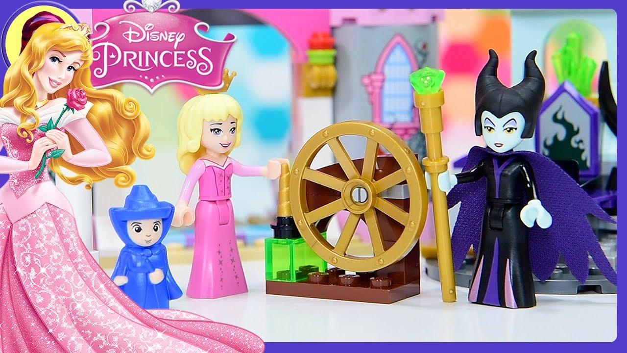 Lego Disney Princess Sleeping Beautys Fairytale Castle Build Review