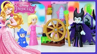Lego Disney Princess Sleeping Beauty's Fairytale Castle Build Review Silly Play Kids Toys