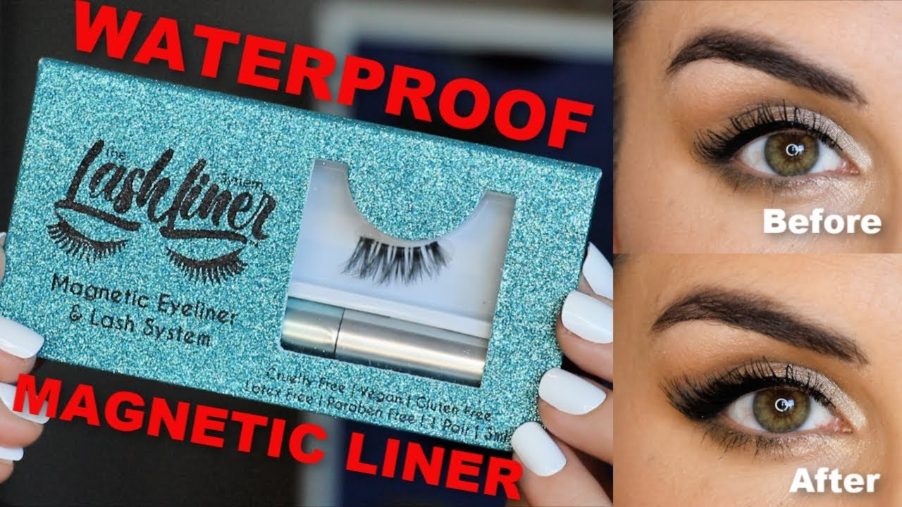 874764d6b6f LashLiner Review: Waterproof Liquid Eyeliner for Magnetic Lashes | Bailey B.