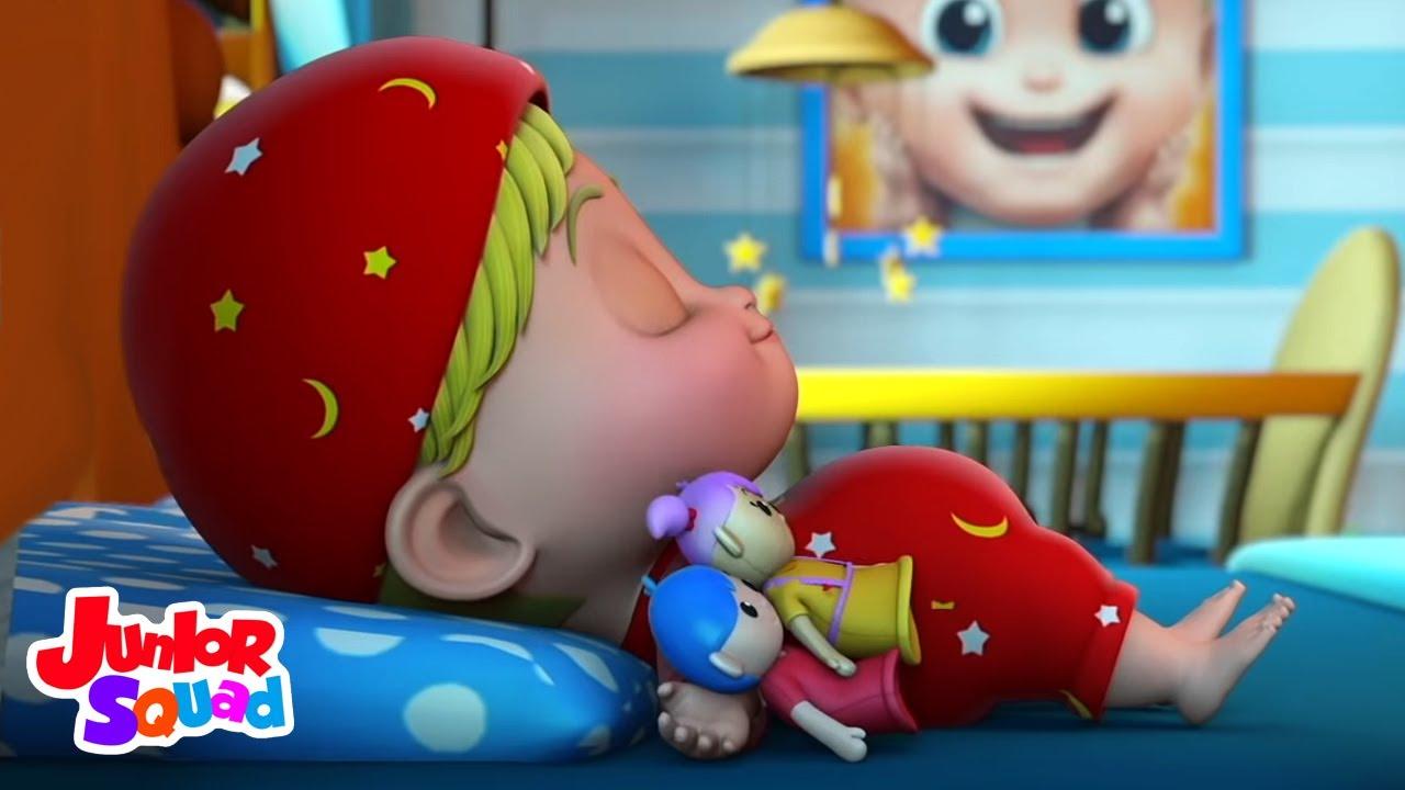 Cullare un bambino bye | Filastrocche | Cartoni animati | Junior Squad Italiano | Musica per bambini